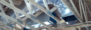 New Construction A/C Ducts System 1