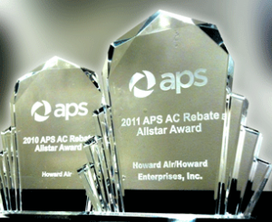 APS AC Rebate Allstar Award