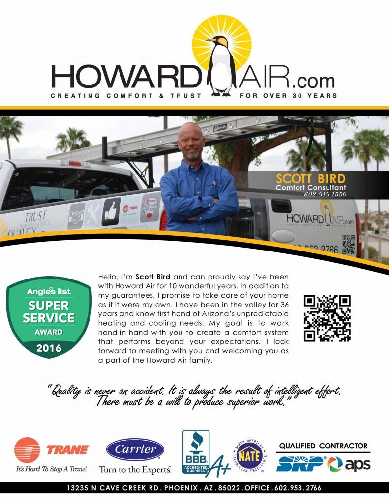 Scot Bird, Howard Air Comfort Consultant