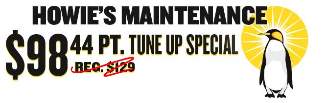 Howie's Maintenance Banner