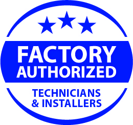 factory authorized logo