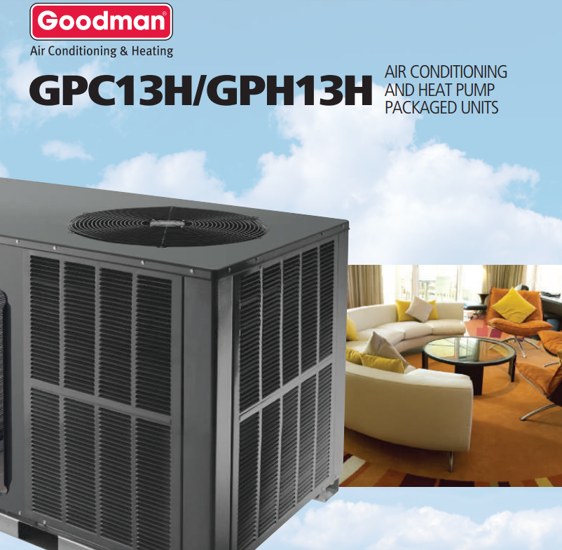 howard air commercial grad ac unit by goodman