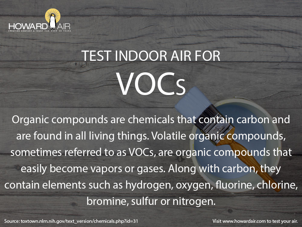 Howard Air - How to Test Air Quality in Your Home: VOCs