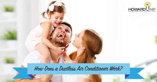 How Does a Ductless Air Conditioner Work?