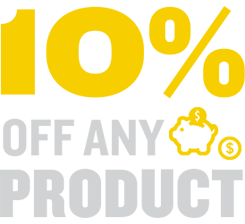 10% Off Any Product