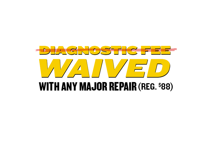 Diagnostic Fee Waived
