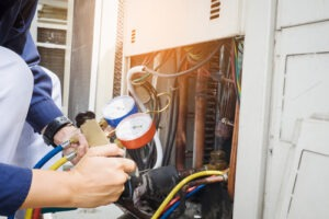 Check health of furnace is a service from Howard Air.