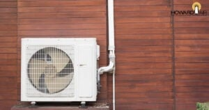 Heat in the home is sent to the outside using an Exterior Compressor and Condenser-Howard Air