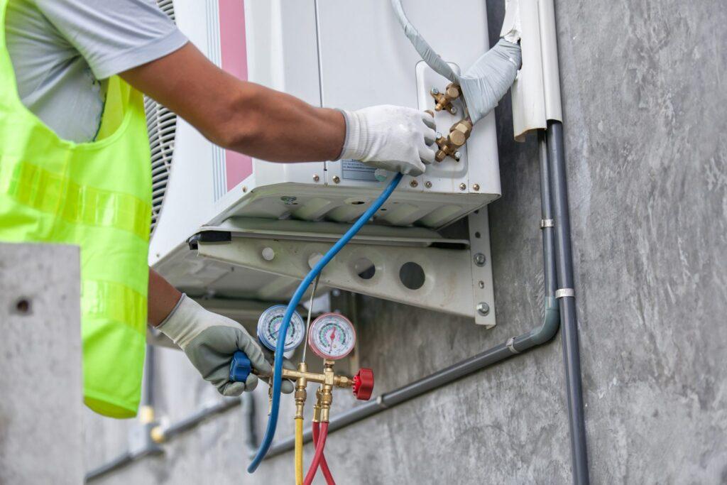 AC preventive maintenance