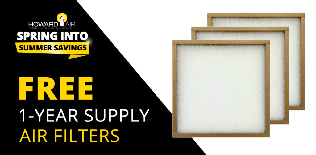 one year supply air filters