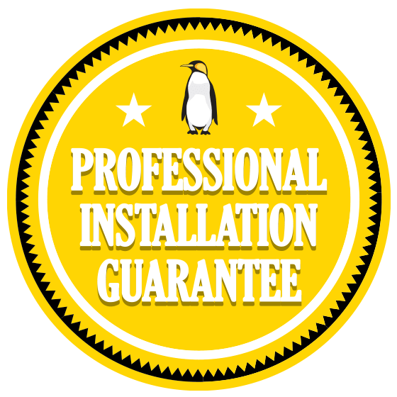 professional installation guarantee